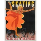 Advertising Poster for Skating at Palais des Fêtes