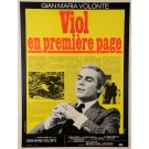 "Original Vintage Italian Movie Poster ""Sbatti il mostro in prima pagina"" Ferracci 1972"