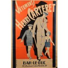 "Original French Poster ""Henri Carteret Clothing Store"" by G. Raybaud ca.1930"