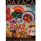 Original Vintage Travel Poster OAXACA Mexico by Covarrubia 1950´s