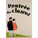 "Original Vintage French Poster ""Rentree des Classes"" by Legros 1929"