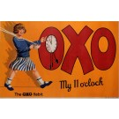 "Original Vintage British Poster Advertising ""OXO"" Soup ca. 1930"