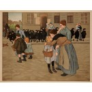 "Original French Poster ""Back To School"" by Adler 1905"
