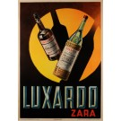 Original Vintage Italian Poster for Luxardo Alchoholic Drinks by A. Pomi ,1938