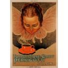 """Original  Italian Chocolate Poster """"Torrefazione Caffe Pernigotti"""" by E. MAZZINI"""