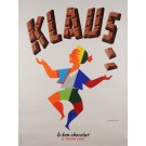 Original French Poster advertising Chocolate Klaus