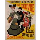 Original Vintage French Poster Advertising Department Toy Store by MISTI