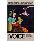 "Original Vintage American Poster ""Expect the Unexpected"" by Tomi Ungerer, 1970"
