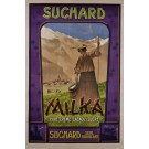"Original Vintage Swiss Chocolate Poster for ""Milka Suchard"" ca. 1910"