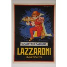 "Original Vintage French OVERSIZE 2 PARTS Poster for ""Lazzaroni - Amaretti di Saronno"" by MUGGIANI Giorgio ca. 1920"