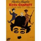 "Original Vintage Spanish Poster ""Ecco Charlot"" Chaplin Festival by Leo Kouper"