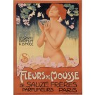 "Original Vintage French Poster Advertising ""Fleurs de Mousse"" by METLICOVITZ"