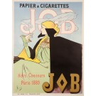 "Original Vintage French Poster for ""JOB Papier a Cigarettes"" by Atche - REPRINT"