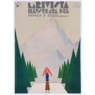 """Vintage Cover Art Deco Magazine """"La Rivista Illustrata del Popolo d'Italia 1927"""