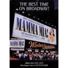 """Original Musical Poster """"Mamma Mia!"""" Abba Broadway 2000's"""