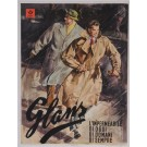 "Original Vintage Italian Fasion Poster Advertising ""Glans"" 1950"