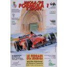 "Original Vintage Italian Race Poster Advertising ""IMOLA '98 Formula 1 E Sport"""