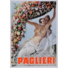"Original Vintage Italian Poster ""Paglieri"" by Boccasile 1930's"