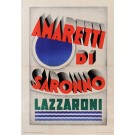 Original Italian Poster for Amaretti di Saronno by Marchesi