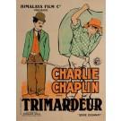 "Original Charlie Chaplin Movie Poster ""Charlot Trimardeur (Work)"" by Roberty"