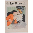 "Set of 6 Original Vintage French Poster for ""Le Rire"" Magazine by Grun ca. 1904"