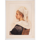 "Original French Lithograph ONLY L'Estampe Moderne N.15 ""Maris Stella"" by GUYON"