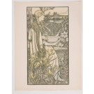 "Original French Lithograph ONLY L'Estampe Moderne N.14 ""Lutèce"" by A. GIRALDON"