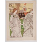 "Original French Litho ONLY L'Estampe Moderne N.11 ""Le Passant"" by Robet Engels"