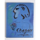 Chagall Lithograph IV (1969-1973) with 2 Original Lithographs