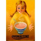 Original Vintage Adverting Poster for Ovomaltine Ovaltine