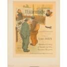 """Original Vintage French Lithograph """"Les Maîtres de l'Affiche"""" by Ibels 1896"""