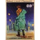 "Original Vintage Italian Poster ""Lefos"" by Campeggi (aka Nano) 1950"