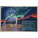 "Reprint Vintage Poster ""Exposition Internationale""   by David Dellepiane"