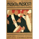Vintage Italian Advertising Poster - MUSICA & MUSICISTI 1904