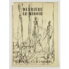 Derriere le Miroir No. 39-40 1951 Alberto Giacometti 3 Original Lithographs