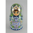 Rare! Original Vintage Russia Wood 16 Pieces Matryoshka Babushka Doll 1992