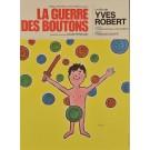 "Original Vintage French Advertising Poster - ""La Guerre des Boutons"" by Savignac"
