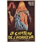 "Italian Movie Poster in ""Le Chteau de l'horreur"" 1974"
