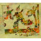 "Original Signed Original Oil o/Board Painting - Harry Guttman ""La Vie d´Artiste"""