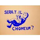"Original Vintage French Poster ""SERA.T.IL"" Student Revolution 1968"