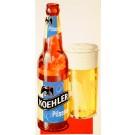 """Original Vintage Beer Advertising Poster """"Koehler Pilsener"""" second printing"""