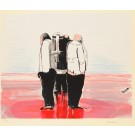 Original lithograph by M. Druks Signed and Numbered A/P