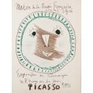 """Original Picasso LITHOGRAPHIC POSTER """"Maison de la Pensee Francaise"""""""