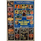 """Original Vintage Movie Comedy Poster """"When Comedy Was King 1951"""