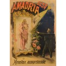 "Original French Vintage Advertising Poster ""Amadria"" by Faria"