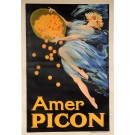 """Original Vintage French OVERSIZE 2 PARTS Alcohol for """"Amer Picon"""" Aperitif"""