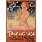"Original Vintage French Poster Advertising ""Fleurs de Mousse"" by METLICOVITZ"