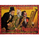 """Original Vintage French Poster for """"Cirque Fratellini"""" by PH. Manuel Freres"""
