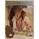 "Original Vintage French Alcohol Poster for ""Liqueur Hanappier"" by Henri Guydo ca. 1900"