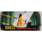 """Original Vintage American Poster """"Shell - Lubricating Oil"""" by E. McKnight Kaufer"""